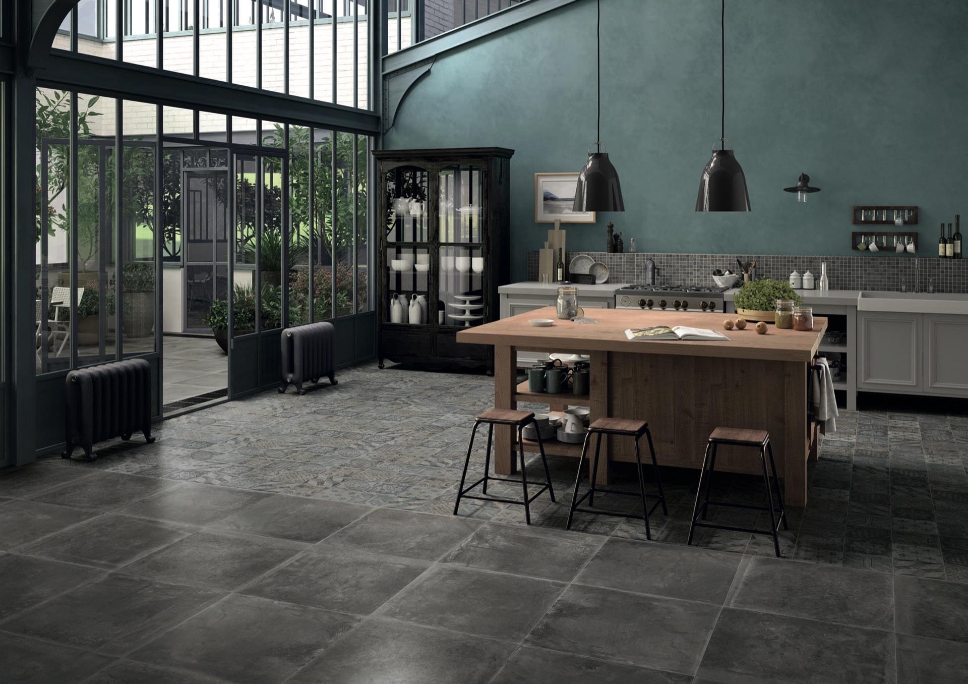 Dust Black 60x60-Eolie Amb Cucina