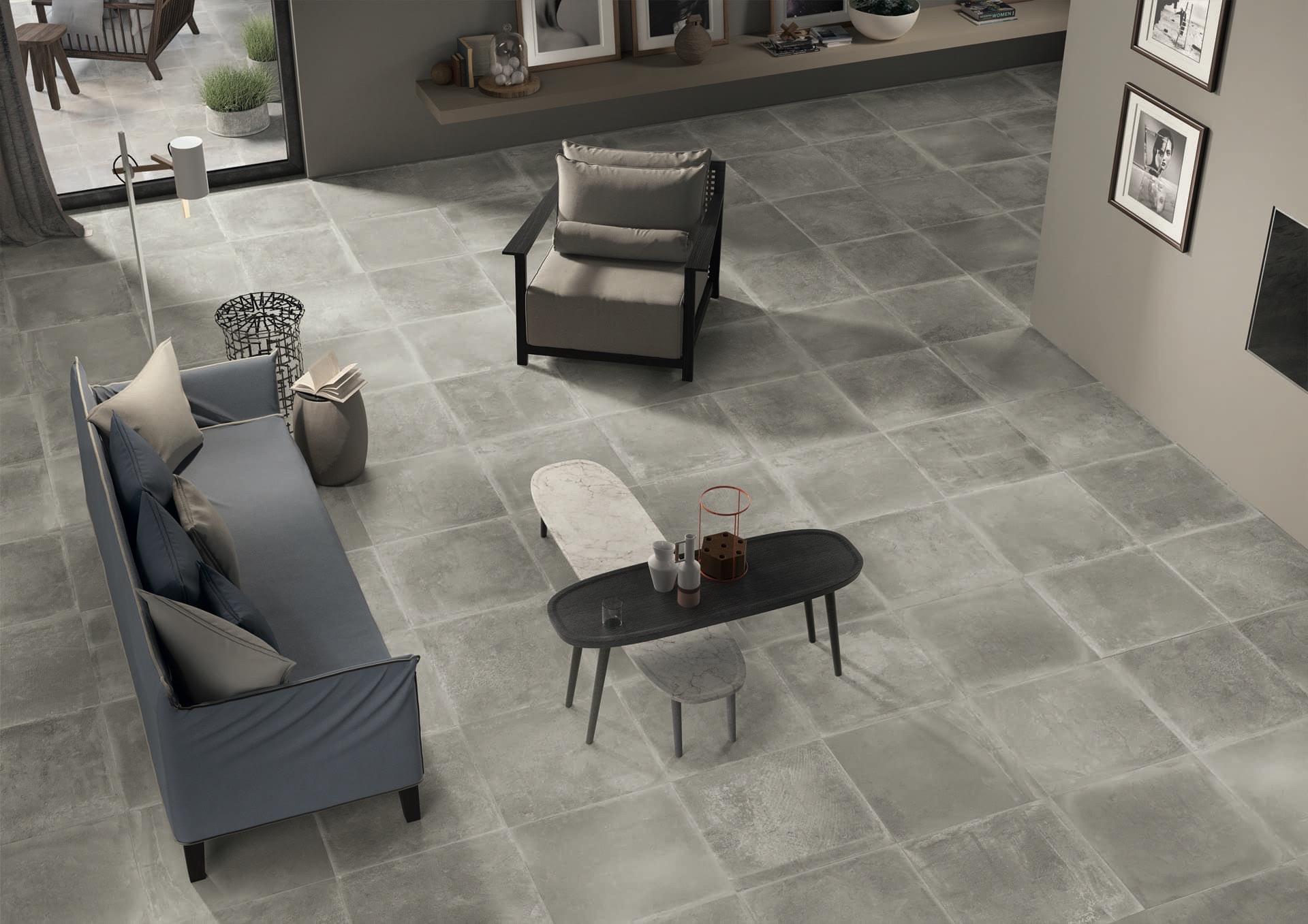 Dust Grey 60x60-30x30 Amb Living