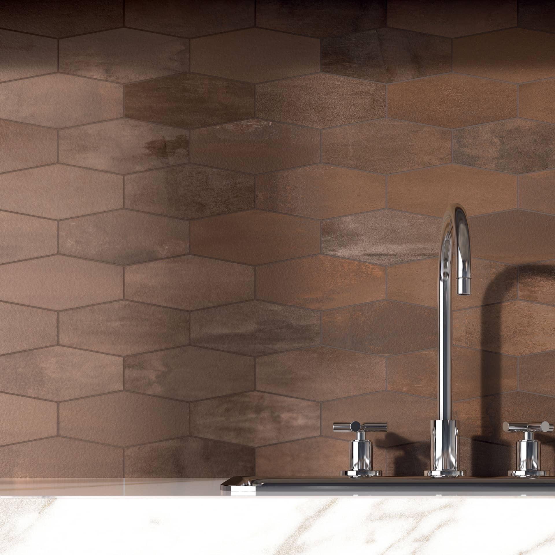 Rust Mosaico Losanga