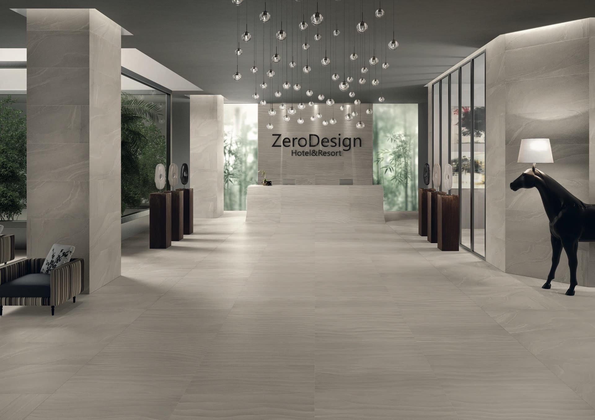 Zerodesign Gobi Grey 60x120 Amb Albergo