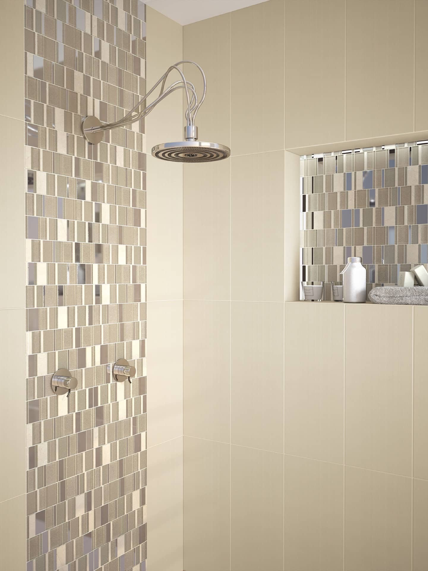 Amb Open BEIGE Mosaico Lamia