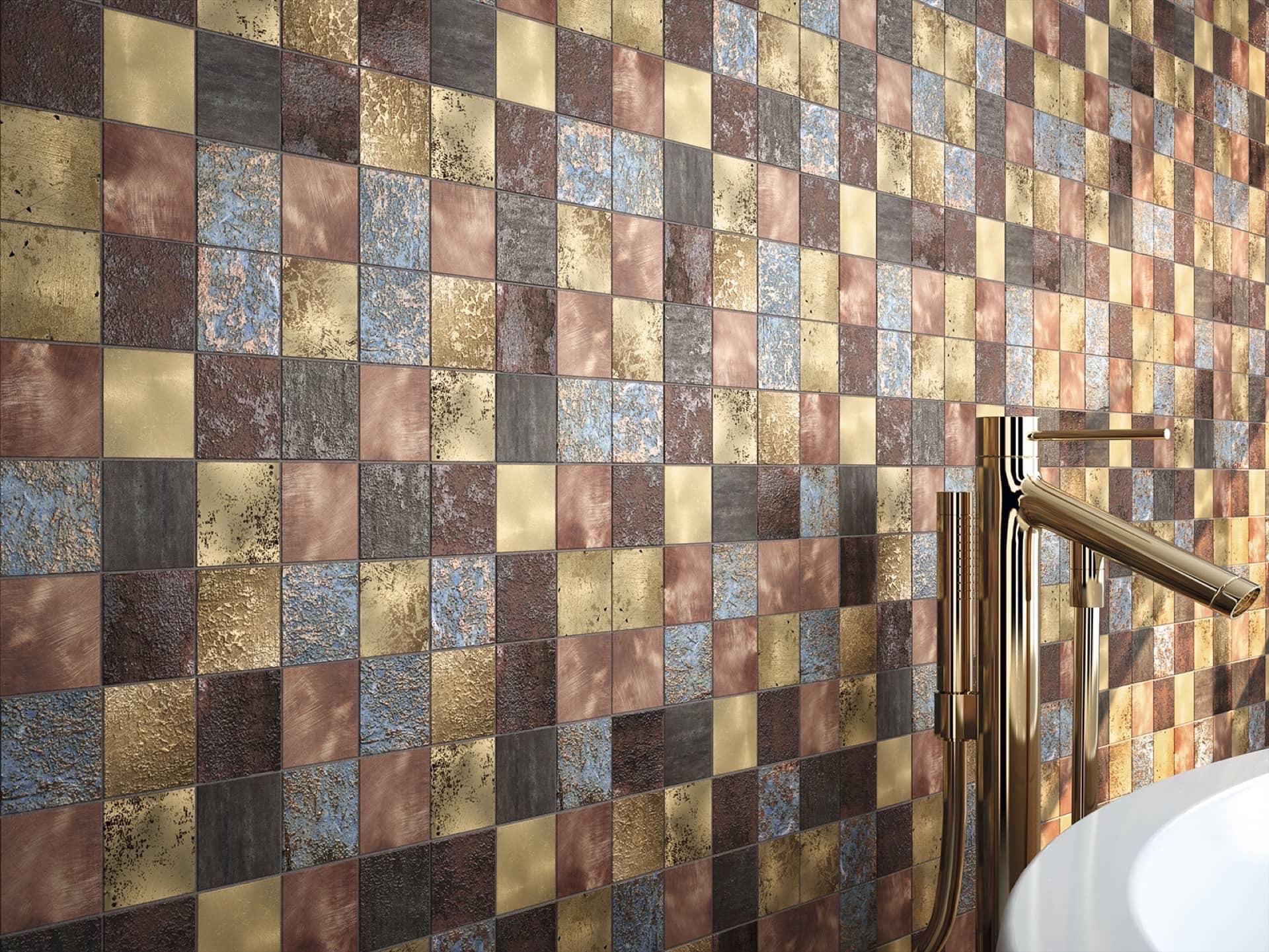 Detalle Amb Open Sand Brillo Mosaico Oxide