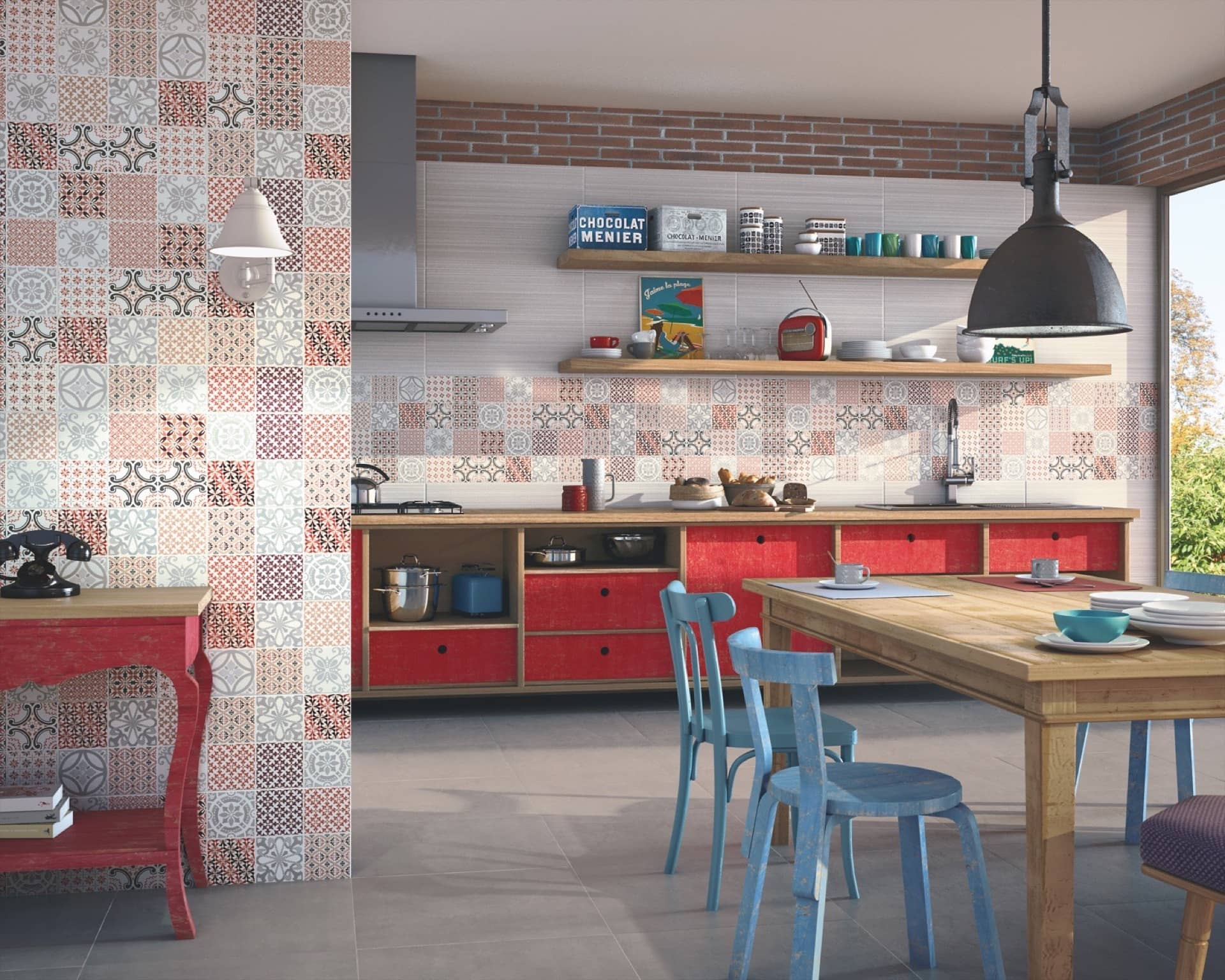 Amb Cosmopolitan blanco decor Al-Andalus pav Milano cement