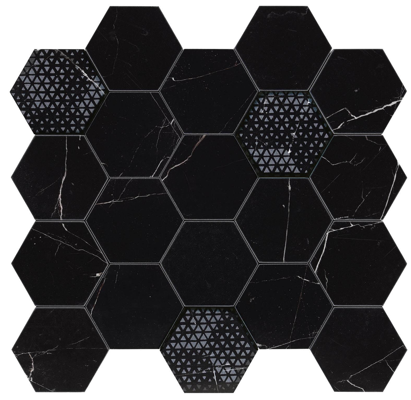 Hexagon royal nero lev 1