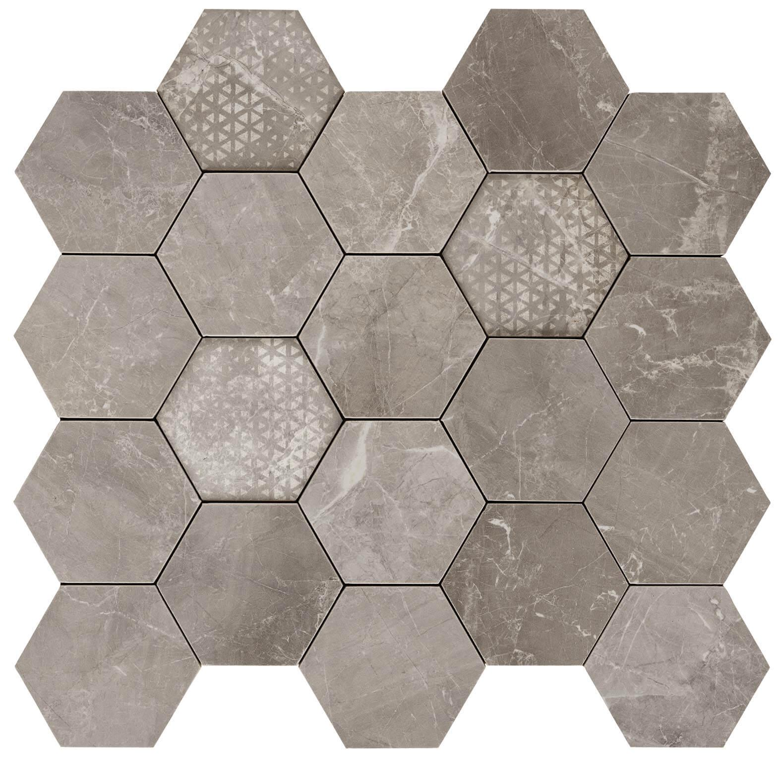 Hexagon supreme grey lev 1