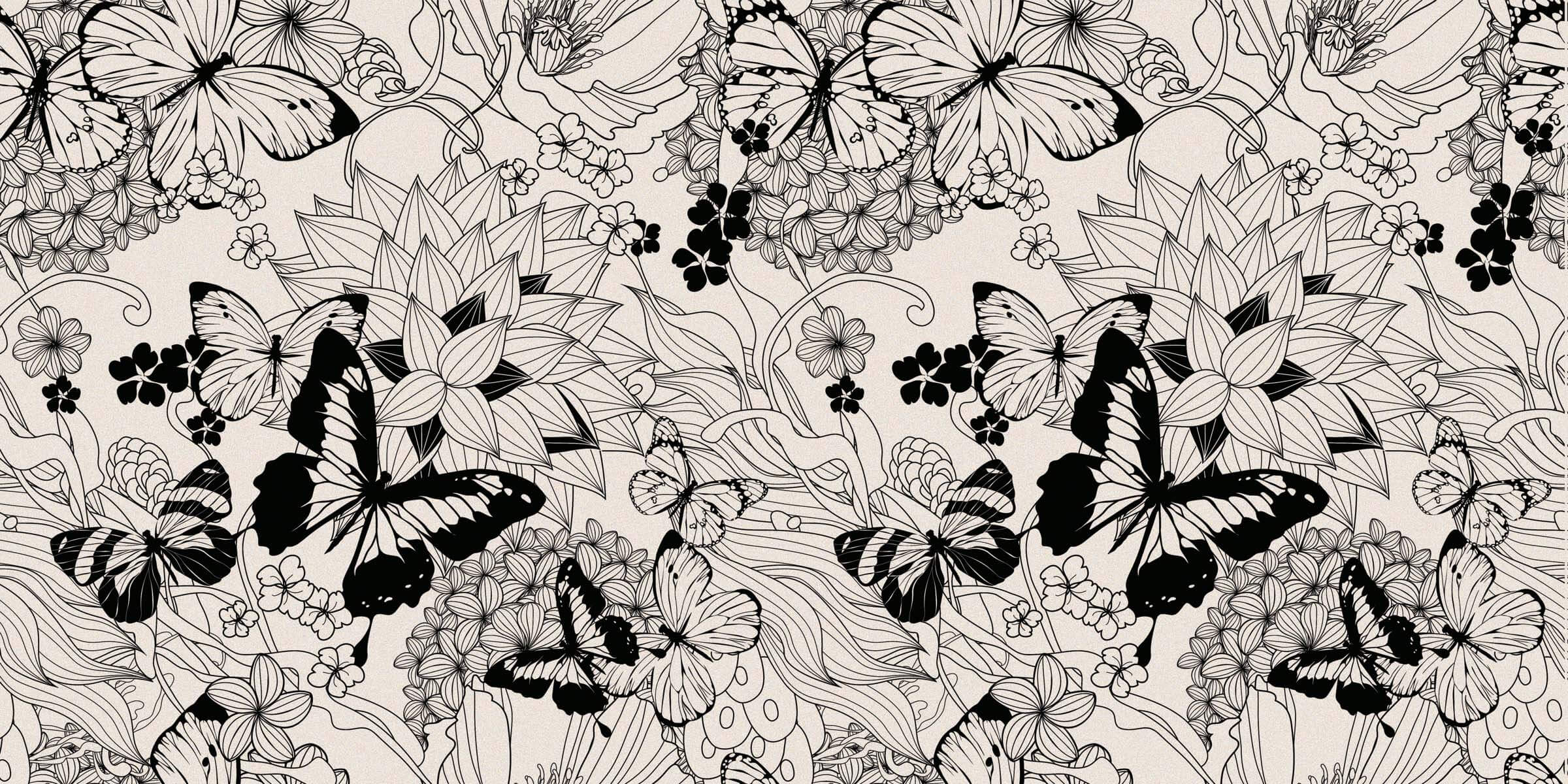 PAINT THE BUTTERFLY 60X120