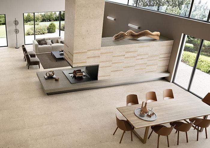 Sabbia 60x120-6,5x60-6,5x60-Miele Alter 6,5x60 Amb. Living
