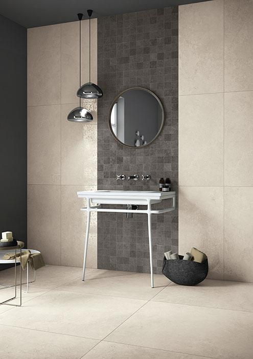 primestone-whitelux-whitesoft-black-mosaico-bagno